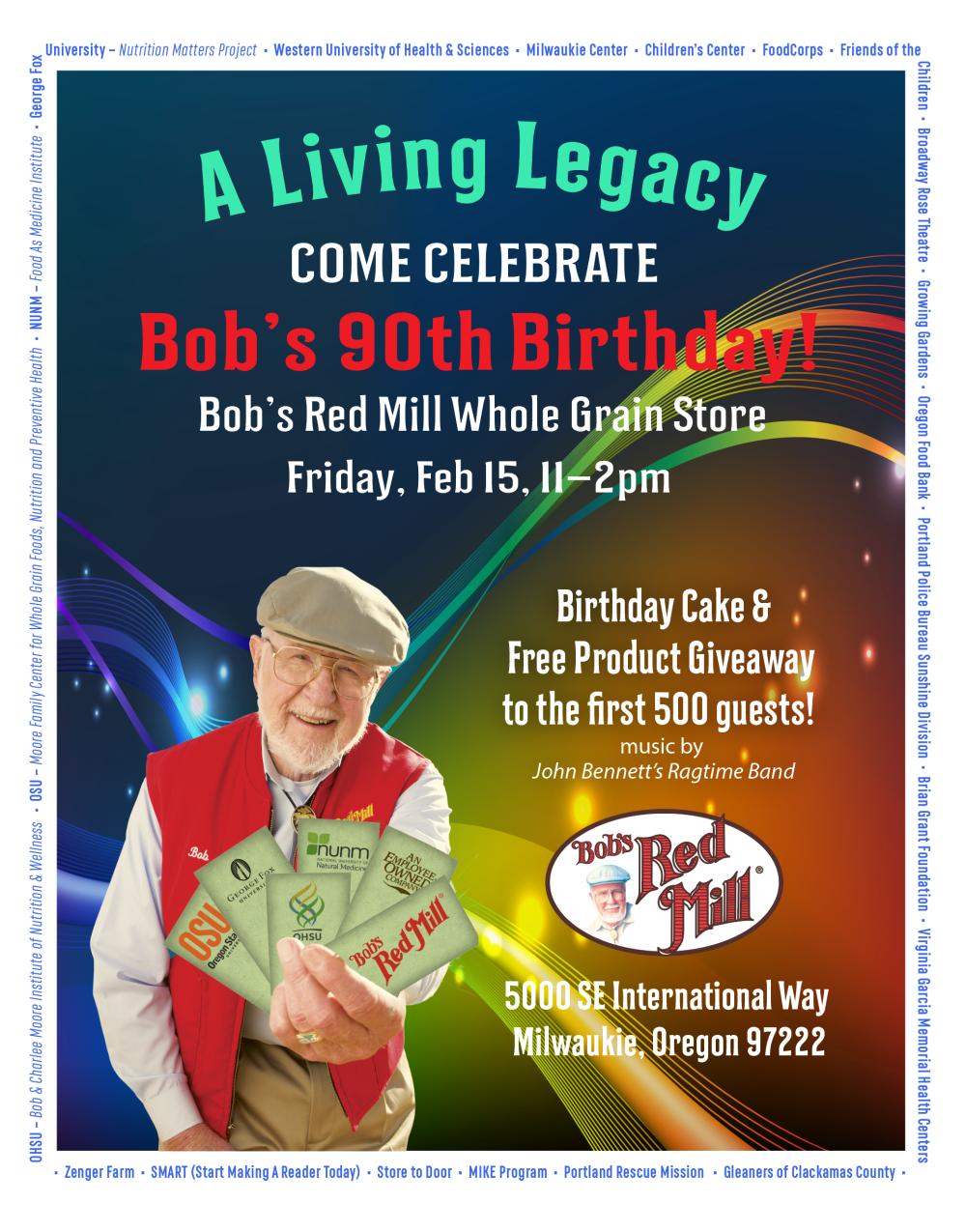Bob Moores 90th Birthday